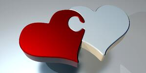 customer loyalty, customer retention heart