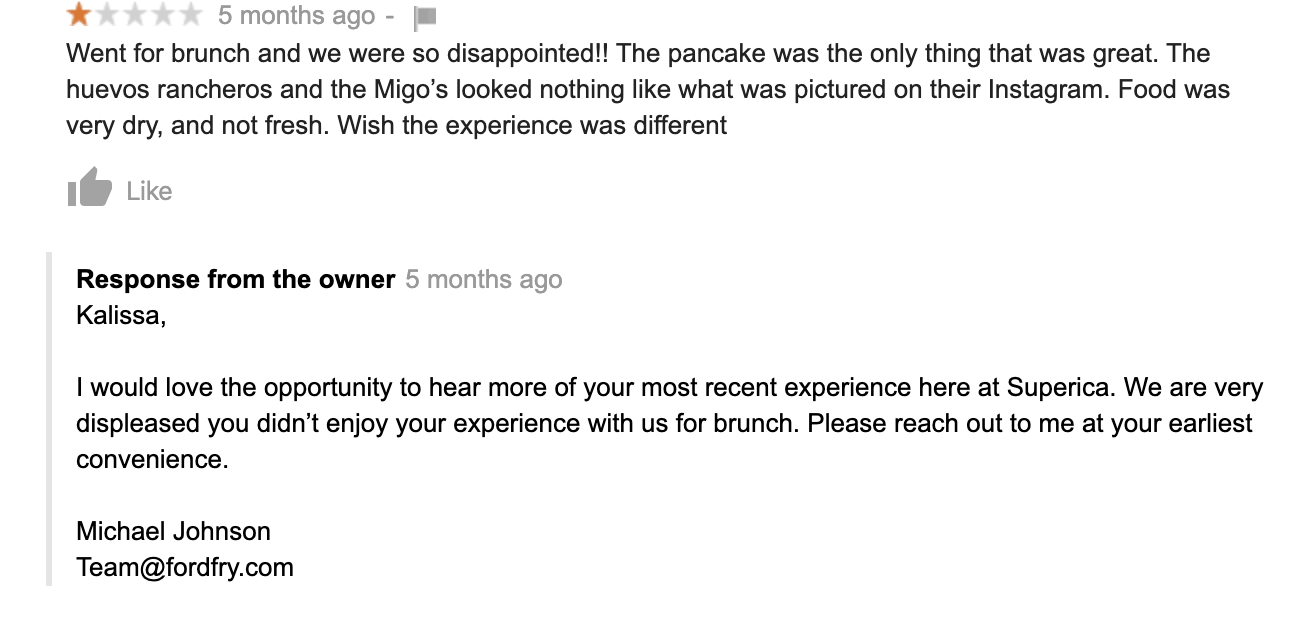 Handling Negative Reviews the Right Way